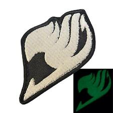 Fairy Tail Japanese Manga Anime glow dark GITD sew iron on patch