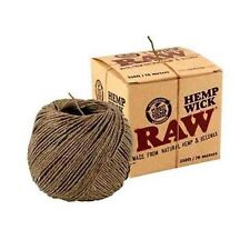 RAW Hemp Wick 76 metre ( 250 feet) UK Seller