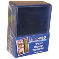 25 Pack Ultra Pro Toploader Rigid Card Protector Pokemon Yugioh Sports MTG TCG