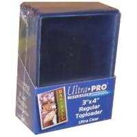 25 Pack Ultra Pro Top Loader Rigid Card Protector Pokemon Yugioh Sports MTG TCG