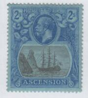 ASCENSION ISLAND 20  MINT HINGED OG * NO FAULTS  VERY FINE!