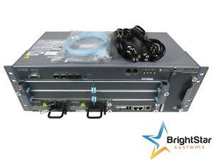 Juniper MX104-AC 4x SFP+ RE-S-MX104 2x PWR-MX104-AC MX104
