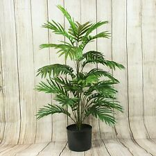 90 cm Artificial Palm Plant - Potted Exotic Plant for Home and Office