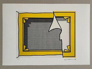 ROY LICHTENSTEIN Lithograph Edition 132/150