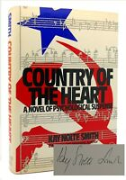 Kay Nolte Smith COUNTRY OF THE HEART Signed 1st 1st Edition 1st Printing
