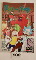 Rick and Morty #10 Signed NM 1st Print Cannon Ellerby Oni Press Adult Swim
