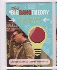 2016 Big Bang Theory seasons 6 and 7 costume card M09 Leonard (b)