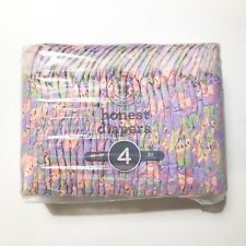 The Honest Company Honest Diapers Size 4 (22-37 Pounds) Watermelon - 30 Diapers