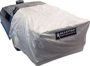 Allstar Performance 23304 Car Cover for Back Half Only Soft Liner in Silver