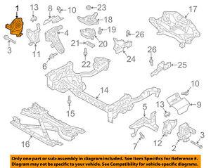 AUDI OEM 13-15 A8 Quattro-Engine Motor Mount/Torque Strut 4G0199381LD