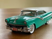 Brooklin #23 1956 Ford Fairlane Victoria 2 door turquoise 43rd scale model car