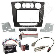 BMW 1er E87 E82 E81 E88 2-DIN Einbaurahmen Radio Blende Adapterkabel Einbauset