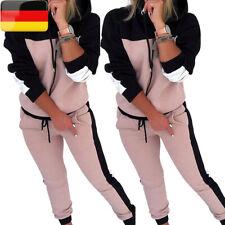 2tlg Damen Fitnessanzug Jogginganzug Sportanzug Hoodie Sweater + Jogginghose