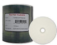 300 TAIYO YUDEN TY WHITE INKJET HUB CD-R WATERSHIELD