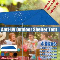 3M Sonnensegel Zeltplane Wasserdicht Regenschutz Zeltstangen Zeltseil