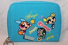 NEW WITH TAGS  LIGHT BLUE POWERPUFF GIRLS COIN WALLET