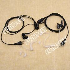 For Midland Radio Fbi Security Pair Headsets Earpiece X-Talker T71Vp3 T75Vp3