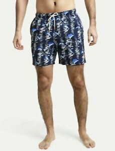 NWT Tommy Bahama $75 Naples Marina Marlin Swim Trunks Navy TR922729 Men's, XL