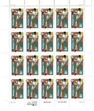 US SCOTT 2835 SOCCER PANE OF 20 STAMPS 40 CENTS MNH