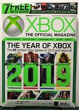 Xbox Official Magazine Year Of Xbox Mortal Combat March 2019 FREE SHIPPING JB