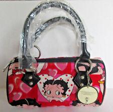 Betty Boop Handbag Red Pink Hearts Rhinestone Express  w TAGS