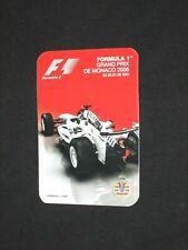 autocollant sticker adesivo GRAND PRIX MONACO F1 2006  Formula formule 1