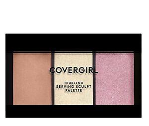 COVERGIRL TRUEBLEND SERVING SCULPT Palette ~ ROSE NIGHTS NEW!!!