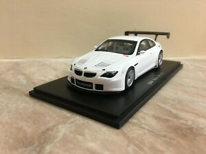 Alpina B6 GT3 White Limit 025/150 1:43 Spark Plain Body M6 E63/E64 BMW 6 Series