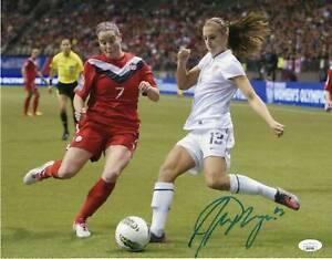 Alex Morgan Autograph 11x14 Photo US Womans Soccer Signed JSA COA 2