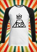 Fall Out Boy FOB Music Band Men Women Long Short Sleeve Baseball T Shirt 101E