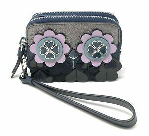 Kate Spade Small Camera Wristlet Zibbi Nightcap Navy Owl WLRU5608 $119