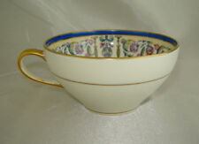 The BAILEY, BANKS & BIDDLE Co. Philadelphia Blue/Green/Gold Painted Tea Cup