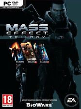 Mass Effect Trilogy [PC-DVD Computer, Region Free, BioWare Sci-Fi Action RPG]