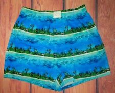 MENS AMERICAN EAGLE TROPICAL BOXER SHORTS SIZE S (29/31)