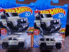 NEW 2018 HW HOT WHEELS 2015 15 LAND ROVER DOUBLE CAB 7/10 TRUCK SET OF 2 LOT
