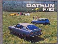 1976 DATSUN F-10 BROCHURE
