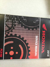 2013 HONDA PCX150 PCX 150 Service Shop Repair Manual Set W Parts Catalog NEW