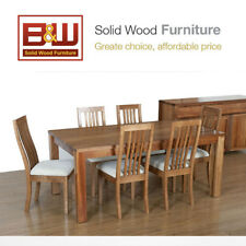 Jessica Tasmanian Blackwood Dining Table (Table Only), Free delivery