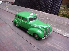 1/43 1940 PACKARD SUPER 8 BERLINE CHECKER TAXI CAB - REXTOYS .