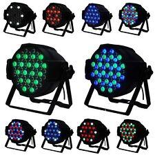2Pcs 54x3w LED STAGE LIGHT RGBW PAR64 162W DMX512 DISCO XMAS CLUB PARTY SHOW