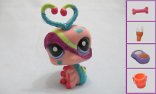 Rare Littlest Pet Shop Glitter Sparkle Bug Lovebug 2151 Free Accessory Authentic