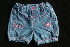 Baby clothes GIRL 12-18m DISNEY Minnie Mouse embroidered denim shorts SEE SHOP!