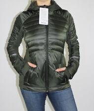 Lululemon Down For A Run Jacket II Size 8 Gator Green NWT Winter Coat Hood NEW