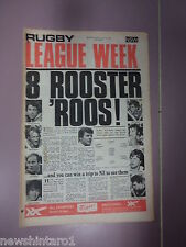 #T107. RUGBY LEAGUE WEEK NEWSPAPER 2/8 1975,  CANTERBURY CENTRE