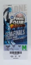2013 FINAL FOUR SEMI FINALS & CHAMPIONSHIP TICKETS 1 SIGNED BY GREG MARSHALL WSU