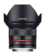 Samyang 12mm F/2 0 CS MF APS-C NCS lente para Fujifilm X-mount