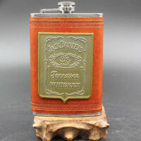9 oz Pocket Stainless Steel Liquor-Whiskey Alcohol Flagon Hip Flask Wine Bottle