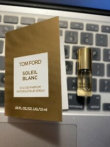 New! Tom Ford Black Orchid Perfume Mini Rollerball 3ml And Soleil Blanc 1.5ml