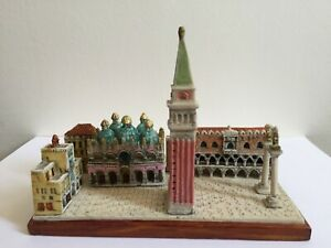 VENICE MINIATURES BUILDINGS GIOVANNI MORO ITALY SAINT MARK CATHEDRAL NO GAULT