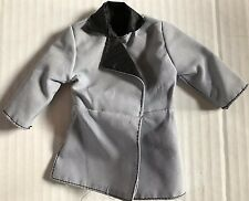 1/6 Scale Sideshow Civil War Confederate Officers Overcoat Grey / Black